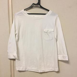 ikka - ポケット付 七分袖 カットソー