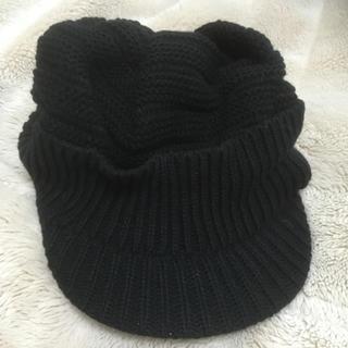 シマムラ(しまむら)の新品しまむらニットキャスケット帽(キャスケット)