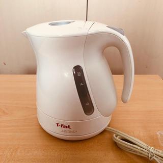 ティファール(T-fal)のT-fal    電気ケトル ホワイト(電気ポット)