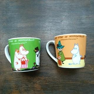 ムーミンコーヒーペアカップ  (食器)