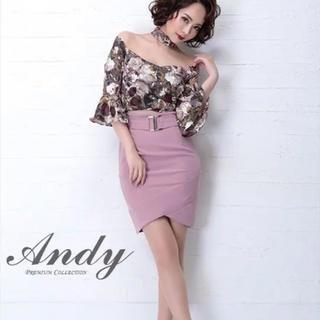 アンディ(Andy)のAndy オフショルミニドレス(ナイトドレス)