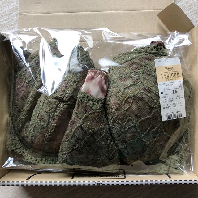 Wing(ウィング)のwing レシアージュ ブラジャー&ショーツ  レディースの下着/アンダーウェア(ブラ&ショーツセット)の商品写真