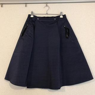 トーガ(TOGA)のTOGA PULLA  リバーシブル ラップスカート(ひざ丈スカート)