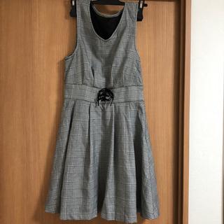 allamanda - アラマンダ チェック ジャンパースカート