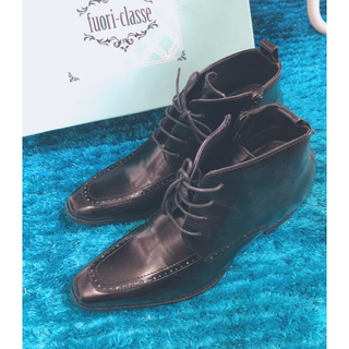 【しなけれ様専用】シークレットビジネスシューズ 黒 L(靴/ブーツ)