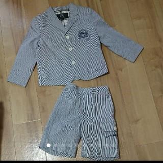 BURBERRY - BURBERRY バーバリー ロンドン スーツ セットアッ120㎝