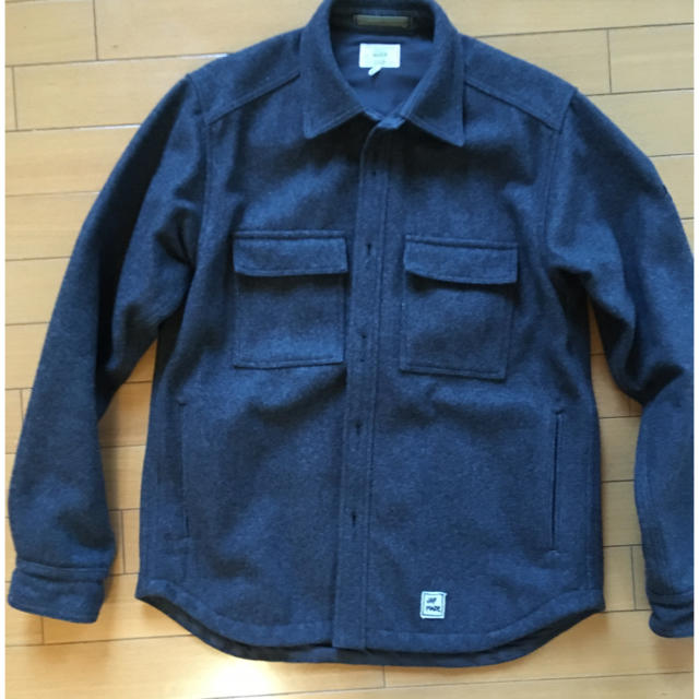 JOURNAL STANDARD(ジャーナルスタンダード)のJOURNAL STANDARD MACLIR メルトンcpo ジャケット メンズのジャケット/アウター(ブルゾン)の商品写真