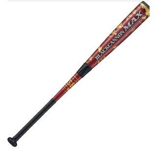 ZETT - ゼット(ZETT) 野球 軟式FRPバット ブラックキャノンMAX 83cm