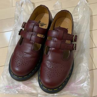 ドクターマーチン(Dr.Martens)のドクターマーチン ダブルストラップ 赤(ローファー/革靴)