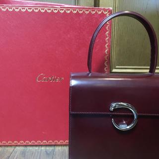 カルティエ(Cartier)のカルティエ ハンドバッグ(ハンドバッグ)