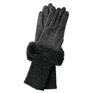 バーニーズニューヨーク(BARNEYS NEW YORK)の【値下げします】バーニーズニューヨーク ニット グローブ 手袋【新品】(手袋)