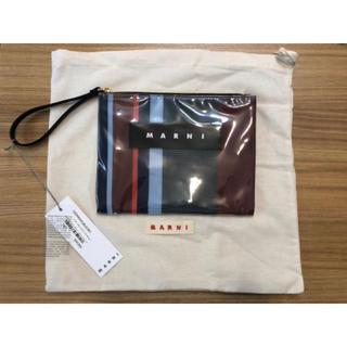 マルニ(Marni)のMARNI クラッチバッグ  ポーチ グロッシー グリップ  マルニ bag(クラッチバッグ)