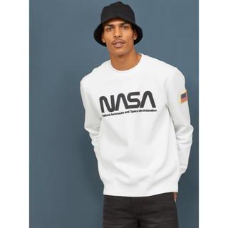 エイチアンドエム(H&M)の【H&M】2020新作&新品 NASA スウェット トレーナー Lサイズ(スウェット)