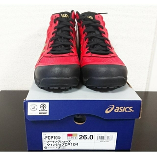 アシックス(asics)の新品 ワーキングシューズ アシックス 安全靴 FCP104 26cm 男女兼用(その他)