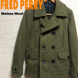 フレッドペリー(FRED PERRY)の[美品] 英国 フレッドペリー メルトンウール ピーコート Sサイズ(ピーコート)