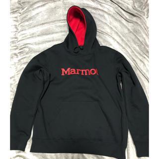 マーモット(MARMOT)のMarmot パーカー  ブラック Mサイズ(パーカー)