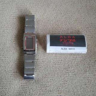 アルバ(ALBA)のALBA デジタルW510(腕時計(デジタル))