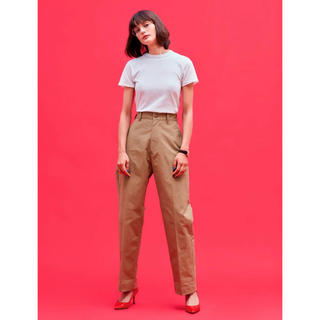 シンゾーン(Shinzone)のshinzone  HIGH WAIST CHINO PT(チノパン)