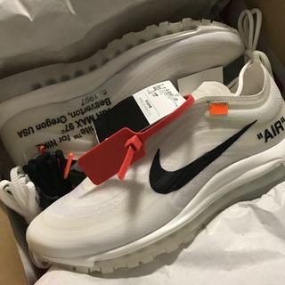 ナイキ(NIKE)のTHE 10:NIKE AIR MAX 97 OG OFF-WHITE(スニーカー)