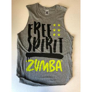 ズンバ(Zumba)のZUMBAリメイクTシャツ ユーズドです。(トレーニング用品)