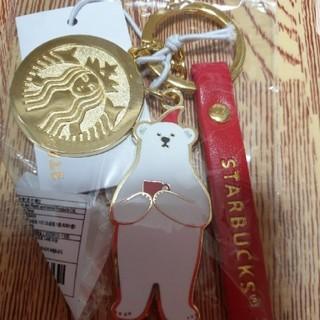 スターバックスコーヒー(Starbucks Coffee)の韓国スタバ クリスマス限定キーホルダー(キャラクターグッズ)