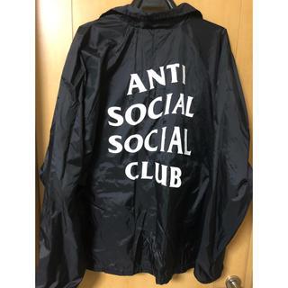 アンチ(ANTI)の【最終値下げ】anti social social club コーチジャケット(ナイロンジャケット)