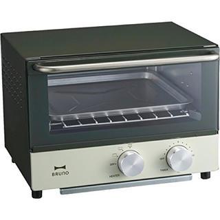 イデアインターナショナル(I.D.E.A international)のBRUNO ダブルヒータートースター オリーブ BOE031-OL(調理機器)