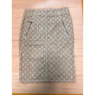 ルイヴィトン(LOUIS VUITTON)のルイヴィトン モノグラムスカート36(ひざ丈スカート)