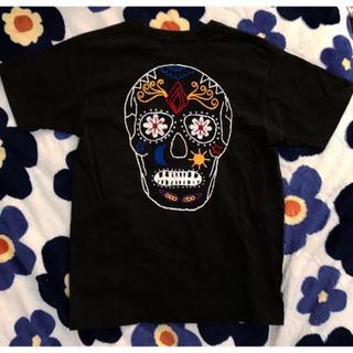 ロデオクラウンズ(RODEO CROWNS)のメキシカンスカル カラベラ Tシャツ(Tシャツ(半袖/袖なし))