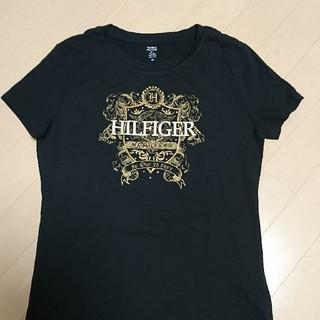 トミーヒルフィガー(TOMMY HILFIGER)のトミーヒルフィガー Tシャツ 黒 ブラック(Tシャツ(半袖/袖なし))