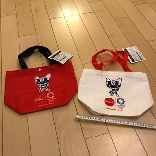 コカコーラ(コカ・コーラ)のコカコーラ 東京オリンピック オリジナルトートバッグ 2つセット(ノベルティグッズ)