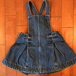 Ralph Lauren - 【90cm】【ラルフローレン】デニムジャンパースカート