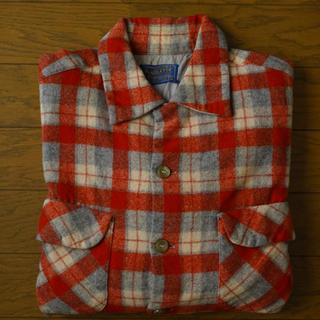 ペンドルトン(PENDLETON)の50s PENDLETON ボードシャツ ビンテージ ペンドルトン ウールシャツ(シャツ)