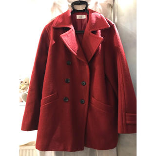 ジョンローレンスサリバン(JOHN LAWRENCE SULLIVAN)の赤 Pコート(ピーコート)