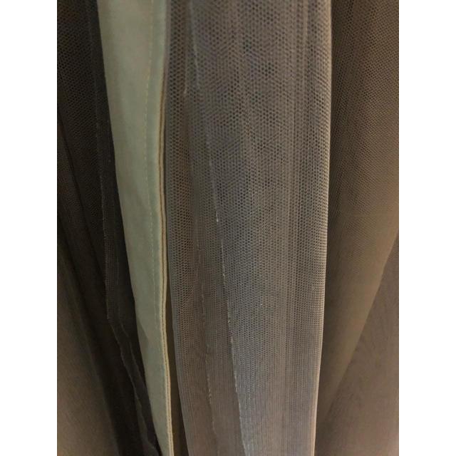 Ameri VINTAGE(アメリヴィンテージ)のEimee Law チュールドッキングフレアトレンチコート レディースのジャケット/アウター(トレンチコート)の商品写真