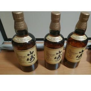 山崎12年×3 新品未開封(ウイスキー)