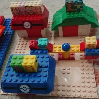 ポケモン(ポケモン)のポケモンキャラブロック DXボックス レゴ(積み木/ブロック)