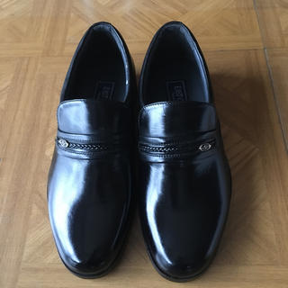 靴 メンズ ブラック 黒 23㎝ EEEE 新品未使用 ※難あり(ドレス/ビジネス)