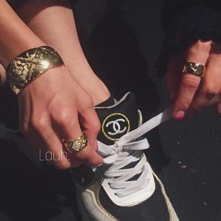 アパルトモンドゥーズィエムクラス(L'Appartement DEUXIEME CLASSE)のマミィさん様専用 j293 gold 16号 10mm(リング(指輪))