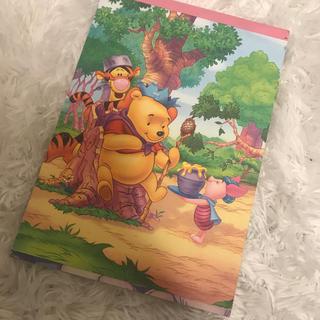 ディズニー(Disney)の大人気キャラクター プーさんメモ帳(ノート/メモ帳/ふせん)