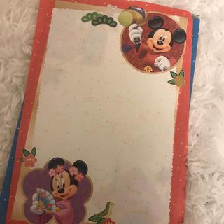 ディズニー(Disney)のディズニー正月メモ帳(ノート/メモ帳/ふせん)
