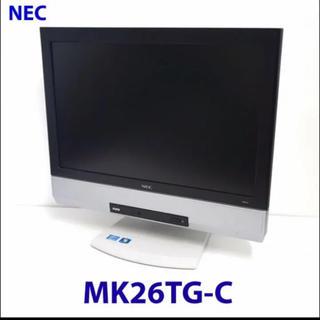 エヌイーシー(NEC)の液晶一体型デスクトップパソコン【ジャンク扱い】Windows10アップデート済み(デスクトップ型PC)