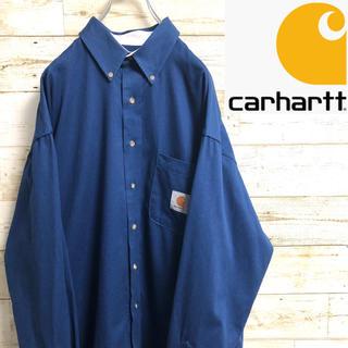 カーハート(carhartt)の*カーハート*長袖シャツ*ワークシャツ*Lサイズ*(シャツ)