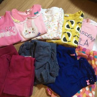 サンカンシオン(3can4on)の女の子服 まとめ売り 110 120 長袖 パンツ(Tシャツ/カットソー)