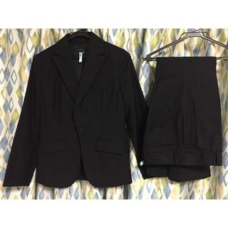 アトリエサブ(ATELIER SAB)のATELIER  SAB  黒縦ストライプパンツスーツ(スーツ)