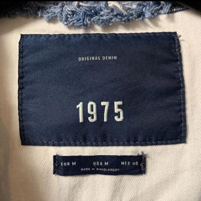 ZARA(ザラ)のデニムジャケット Gジャン メンズのジャケット/アウター(Gジャン/デニムジャケット)の商品写真
