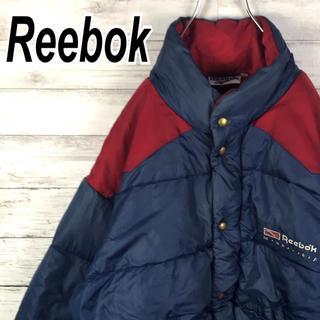 Reebok - リーボック ダウン ナイロン 中綿 ブルゾン 90s 旧タグ ジャケット