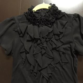 ミッシュマッシュ(MISCH MASCH)のMISCH MASCHフリル付カットソー(Tシャツ(半袖/袖なし))