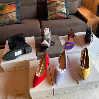 スコットクラブ(SCOT CLUB)の限定値下げ〜新品 スコットクラブ 靴 福袋 7足セット 24cm(ブーツ)