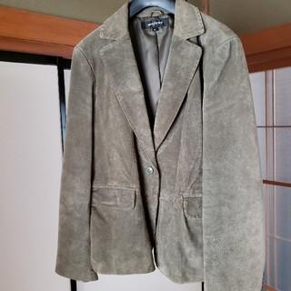 シマムラ(しまむら)の未使用のモスグリーンのテーラードジャケット(テーラードジャケット)